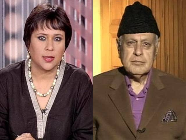 Video : Townships Exclusively for Pandits Will Create Hatred, Everyone Should Live Together: Farooq Abdullah to NDTV