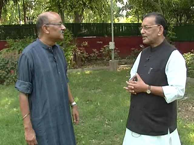 Video : Walk The Talk With Agriculture Minister Radha Mohan Singh