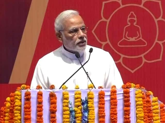 Video : 'Freedom From War Only If We Follow the Path of Buddha,' Says PM Modi