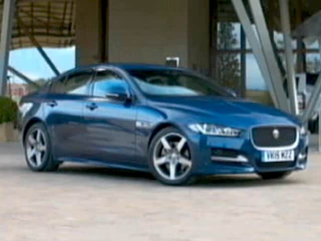 Jaguar XE Driven