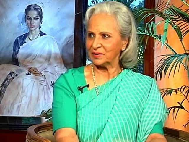 Censor Board Members Have Dirty Minds, Says Waheeda Rehman