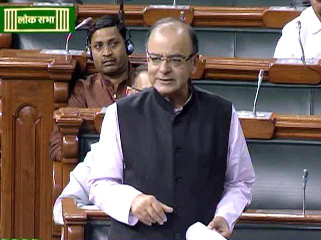 Video : 'I Beseech You, Clear GST Bill': Finance Minister Arun Jaitley's Appeal Wins Congress Support