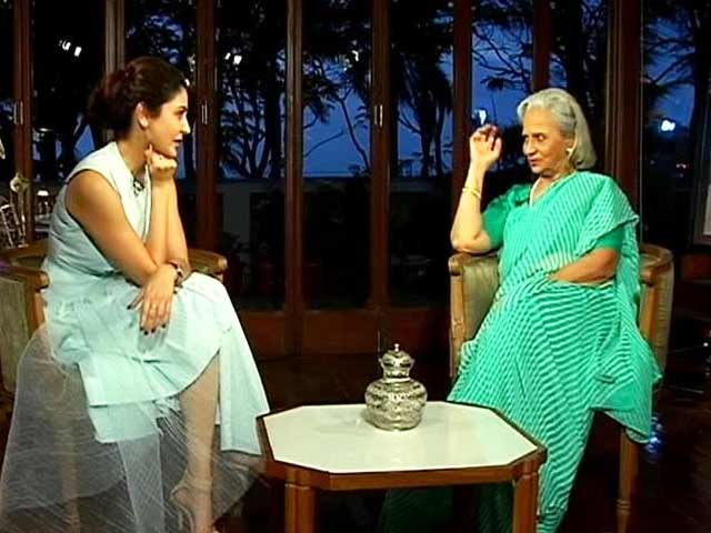 Anushka Sharma Interviews Waheeda Rehman For NDTV