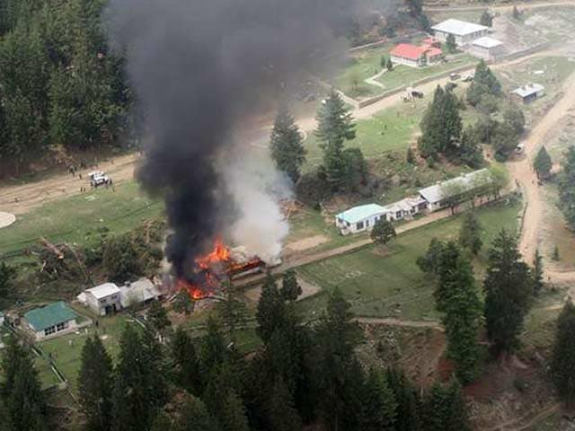 Video : Envoys Killed as Chopper Crashes Into School in Pakistan-Occupied Kashmir