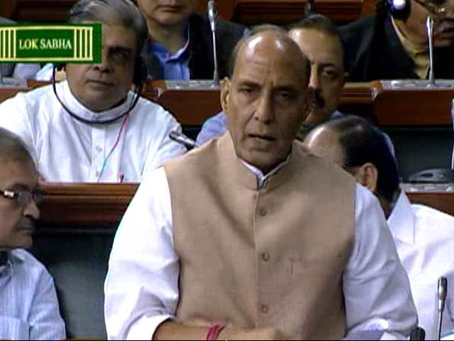 Video : Dawood in Pakistan, Will Get Him No Matter What: Rajnath Singh in Parliament