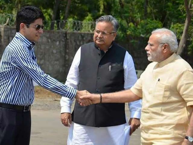 Video : Dark Glasses When Meeting PM Narendra Modi Lands Him in Big Trouble