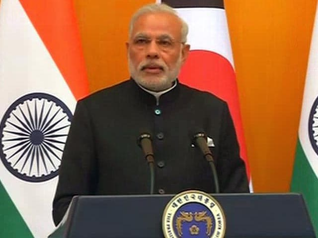 Video : 'Consider Korea Crucial Partner in India's Economic Modernisation,' Says PM Narendra Modi in Seoul