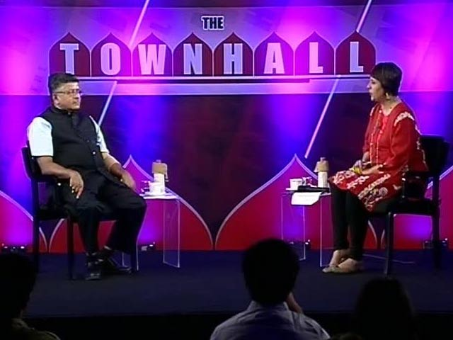 Video : 'Achche Din' - Reality vs Rhetoric: Townhall With Ravi Shankar Prasad
