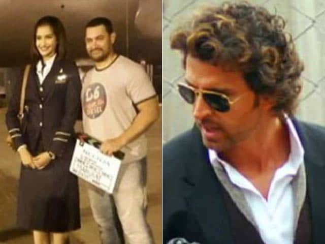 Video : Aamir Visits Sonam on Sets of Neerja, Hrithik Wraps Up Gujarat Sched of Mohenjo Daro