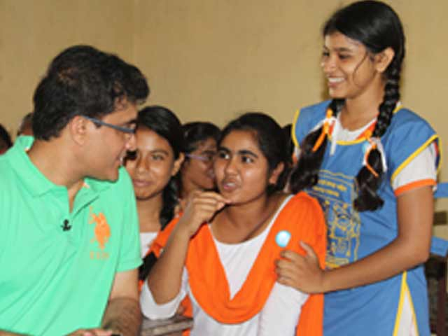 Video : India's Favourite Dada visits Kheadaha High School in Bengal