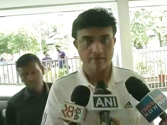 Video : Don't Know About My Role in BCCI Advisory Committee: Sourav Ganguly