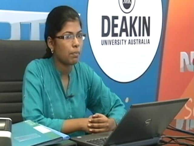 Video: NDTV Deakin Scholarship Program