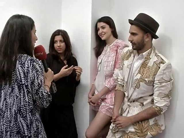 Getting Up Close and Personal with Dil Dhadakne Do's Farah And Kabir