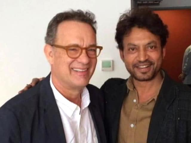 Tom Hanks Sends Irrfan Khan a Hand Written Note