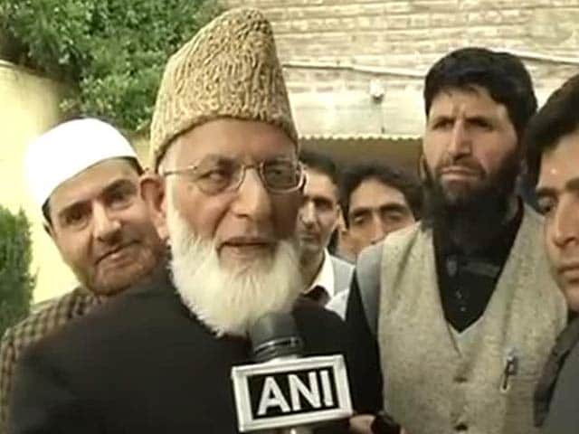 Video : 'Not an Indian' Says Kashmiri Separatist Syed Ali Shah Geelani as He Applies for Passport