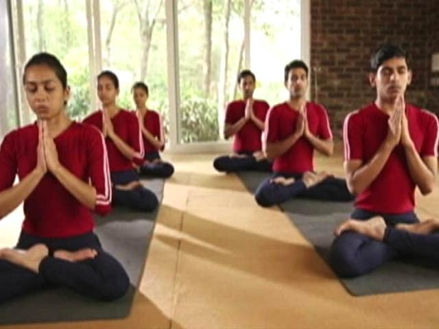 Video : Yoga Day During Summer Holidays Takes Sheen off the Event