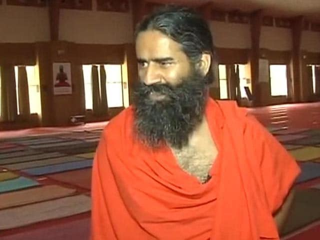Video : 'What Does Surya Namaskar Have to Do With Religion,' Says Ramdev on Yoga Day Controversy