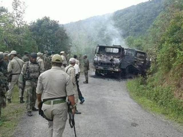 Video : Army Conducts Ops Near Myanmar Border, Sources Say Militants Behind Manipur Ambush Killed
