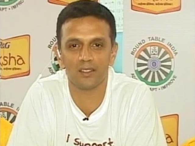 Video : Not True That I Was Reluctant to Coach Team India: Rahul Dravid to NDTV