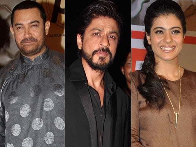 Video : Aamir Wears Jackie Chan's Gift; SRK-Kajol Shoot Dilwale