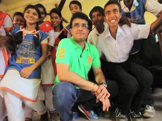 Video : Sourav Ganguly on the impact of Support My School