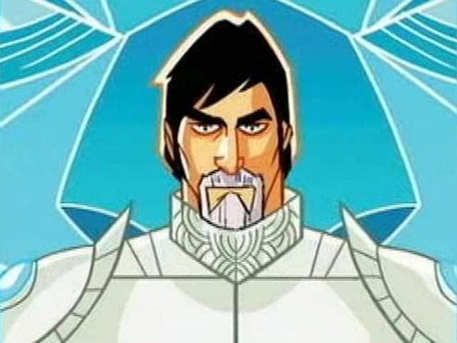 Video : Amitabh Bachchan, a Superhero