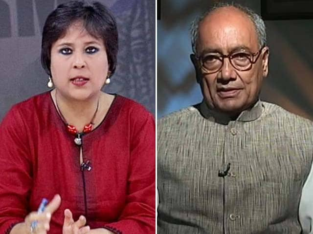 Video : 'Is this Vasundhara Raje's Nationalism?' Digvijaya Singh on Rajasthan Chief Minister's 'Secret' Support for Lalit Modi