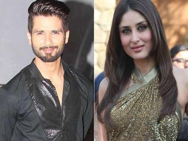 Video : Kareena Congratulates Shahid for Being in a 'Happy Space'