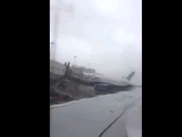 Video : Mumbai Rains: Flights Delayed, Some Diverted. Check Out This Video
