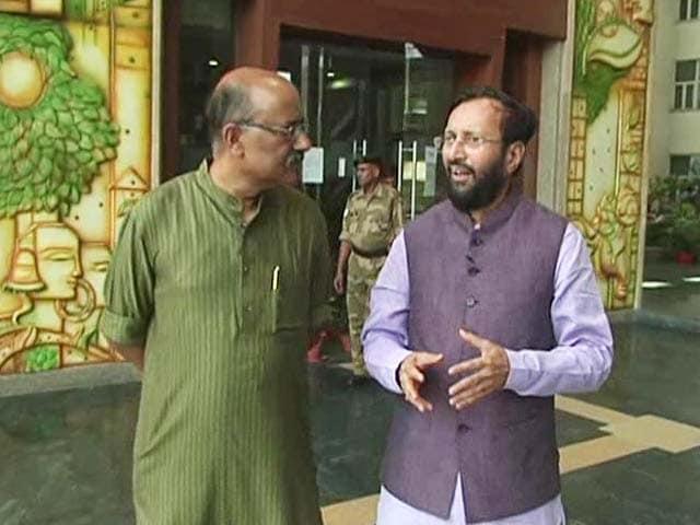 Video : Walk The Talk With Prakash Javadekar