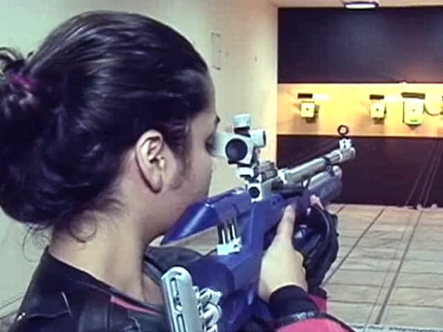 Video : योग के सहारे निशानेबाजी, निशाना लगाने में मिलती है मदद