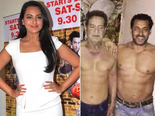 Sonakshi is Calm on Twitter; Salman's 'Shirtless' Tribute on Father's Day