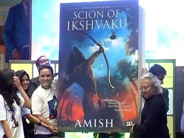 Video : Amish Tripathy's Literary Blockbuster