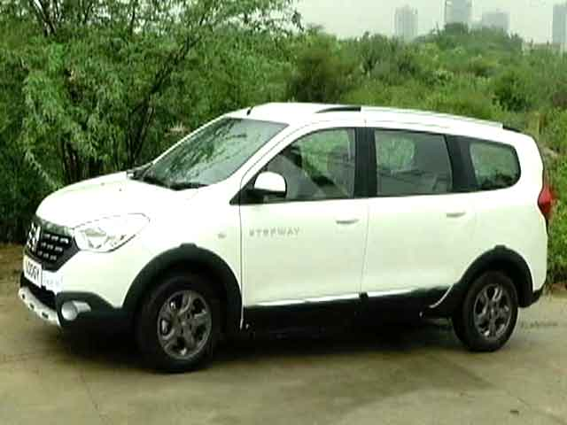 What S New Renault Lodgy Stepway Edition