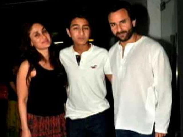 Kareena and Ibrahim Say We Are Family