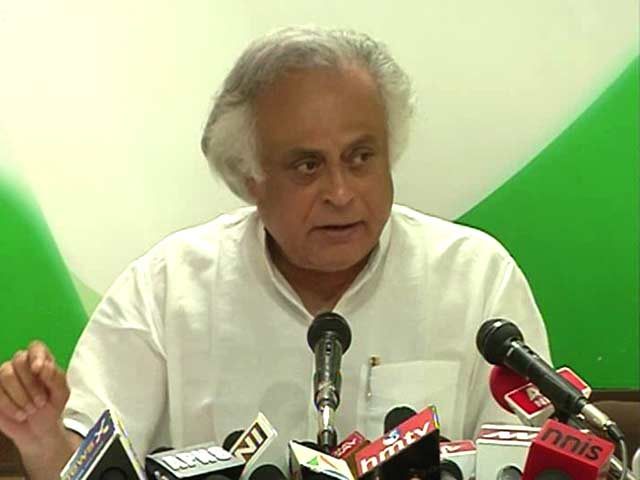 Video : 'Raje and Modi Converted Government Property into Personal': Jairam Ramesh