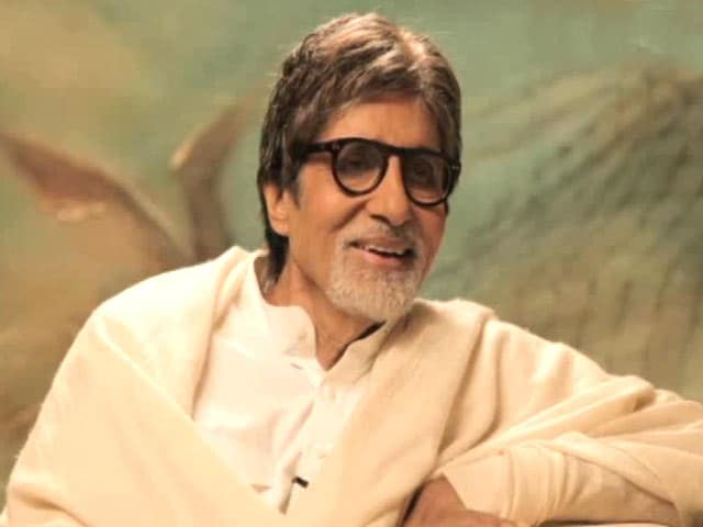 Video : Big B: Had No Plans to Become an Actor; Was Drawn by the Movies as a Youngster