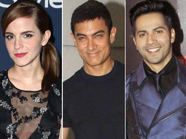 Emma Watson to Star in Aamir Khan's Next? Varun Had Fun with Dilwale Monster Cars