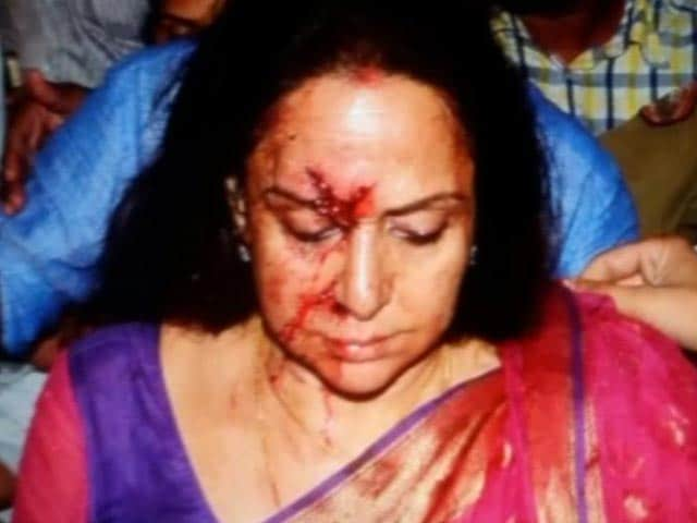 Video : Hema Malini's Driver Arrested After Accident in Which a Child Was Killed