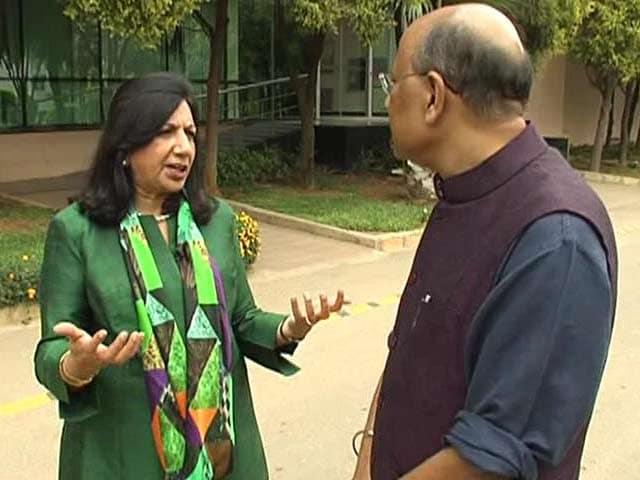 Video : Walk The Talk With Kiran Mazumdar Shaw