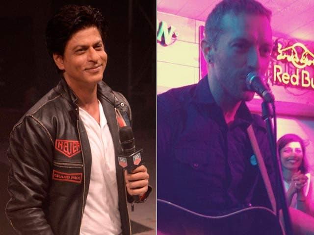 Video : SRK on Cracking Under Pressure; Chris Martin's Date With Delhi