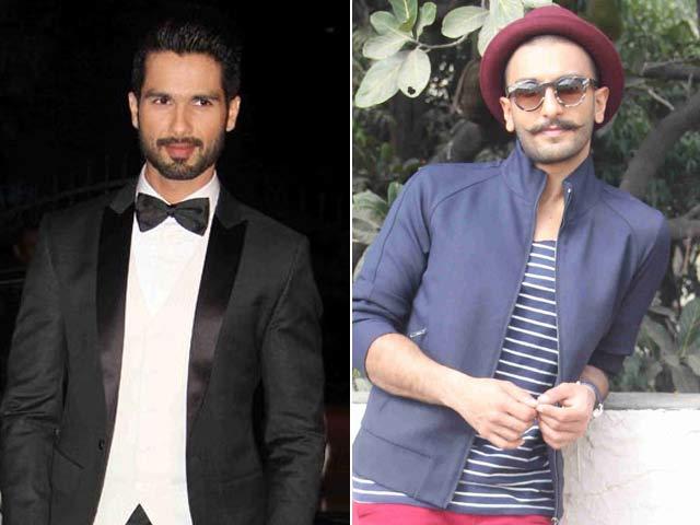 Shahid, Bollywood's New-Age Groom; I Follow my Instincts: Ranveer