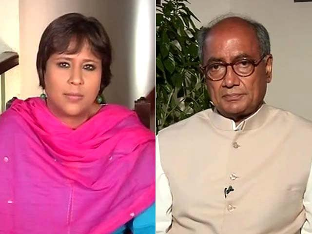 Video : 'If I Were Governor, I Would Have Resigned the Day FIR Named Me Accused No 10': Digvijaya Singh to NDTV
