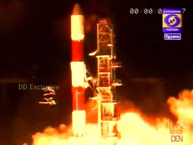 Video : ISRO's Small Rocket Successfully Launches 5 British Satellites