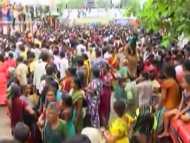 Video : 27 People, Mostly Women, Killed in Andhra Stampede Where Chief Minister Took River Dip