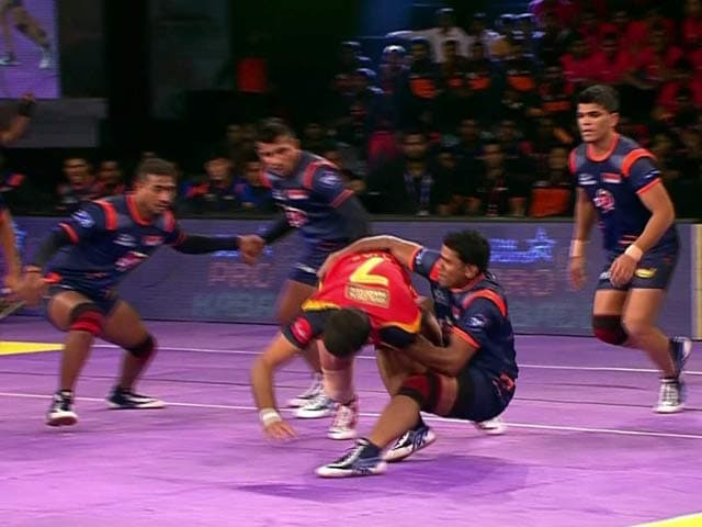 Video : Pro-Kabaddi League: Bengaluru Bulls Overpower Bengal Warriors