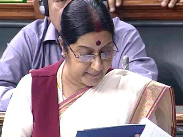 Video : On Lalit Modi Row, Sushma Swaraj 'Keen to Make Statement' in Parliament