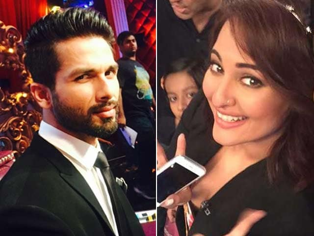 Video : Sonakshi, Shahid, New Stars of Indian TV