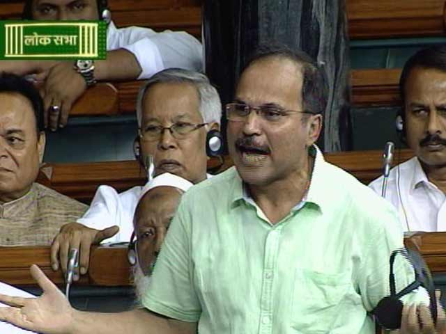 Video : Speaker Asks Congress MP Adhir Choudhury to Leave House Over 'Insult'