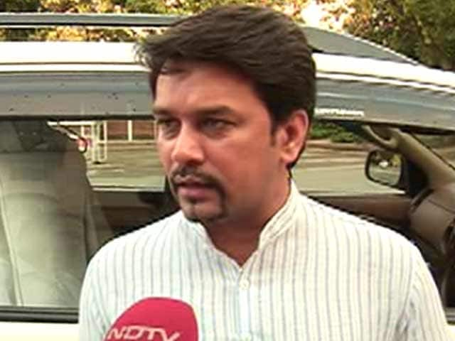 Video : Cricket and Terror Can't Go Hand-in-Hand, Says BCCI Secretary Anurag Thakur